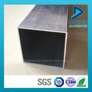 Anodized Customized Rectangle Square Tube Aluminium Extrusion Profile pictures & photos