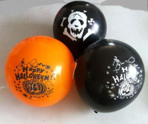 Happy Halloween Printed Latex Balloons (PM255) pictures & photos
