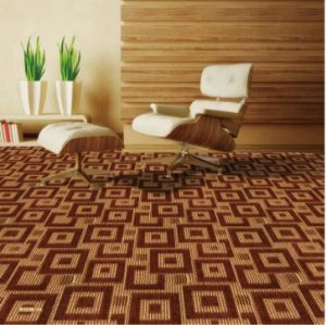 Prague Pattern-1/10 Gauge Polypropylene Bcf Wall to Wall Machine-Woven Carpet pictures & photos