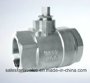 2PC Type of Ball Valve with Internal Thread 2000wog pictures & photos