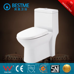 Water Saving Siphonic Square Shape One Piece Toilet (BC-2013) pictures & photos
