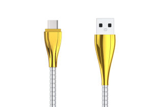 Good Quality Metal Plating Data Cable Type-C USB Cable pictures & photos