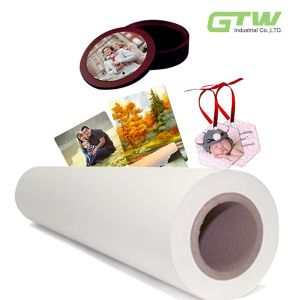 50GSM Anti-Curl Fast Dry Dye Sublimation Paper with High Competitive Price for Functional Textiles pictures & photos