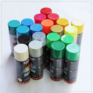 Non Toxic Metallic Spray Paint for Metal pictures & photos