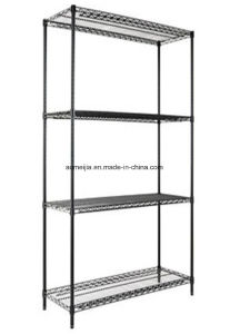 Hot Sale Metal Chrome Wire Flowers Shelf for Burma pictures & photos