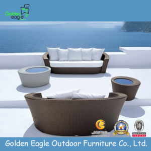All Weather PE Rattan Outdoor Sofa pictures & photos