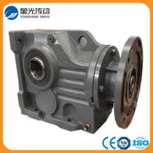 Xg K Series Helical Bevel Ratio Reduction Gear Box pictures & photos