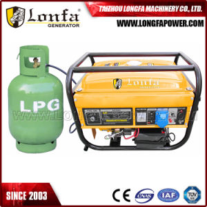 2kw 3kw 5kw LPG Petrol Gasoline Engine Generator Dual Fuel Electric Start pictures & photos