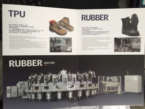 Intelligent Turntable-Type Connected Lasting Injection Shoes Machine pictures & photos