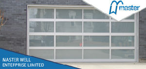 Glass Overhead Automatic Sectional Garage Door pictures & photos