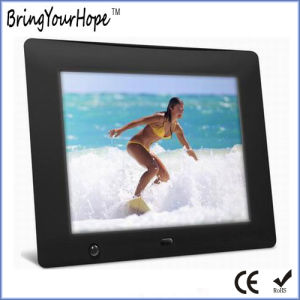 8 Inch Human Motion Sensor Digital Photo Frame (XH-DPF-080I) pictures & photos