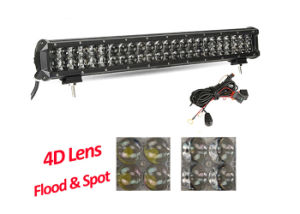 12V 300W Front 4D LED Driving Light Bar, Spot Flood Combo Beam Vehicle LED Light Bar pictures & photos