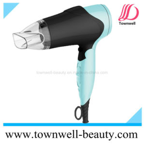 New Foldable DC Hair Dryer with Continuous Ionic, Ionic Indicator and Slide Switches pictures & photos