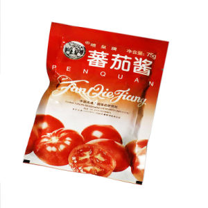 Aluminum Foil Custom Printed Stand up Spout Pouch for Ketchup pictures & photos