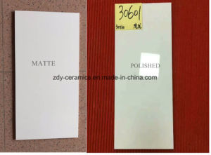 Foshan Quality Pure White Ceramics Wall Glazed Tiles pictures & photos