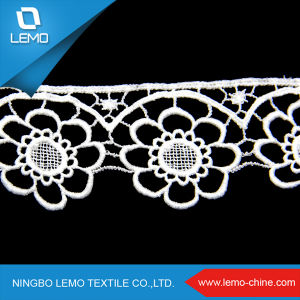 Lemo Fashion Lace Patchwork Dress, Sugar Silicone Lace Saree Material pictures & photos