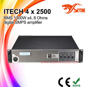 I-Tech 4X2500 Digital Professional High Power Amplifier, Audio Amplifier pictures & photos