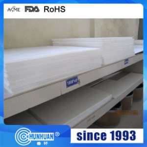 Virgin High Quality PTFE/Teflon Skived Sheet pictures & photos