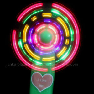 2017 Mini LED Light up Fan with Logo Print (3509A) pictures & photos