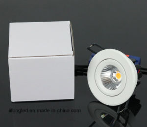 LED Ceiling Light Rotatable COB 7W LED Downlight with 3 Years Warranty pictures & photos