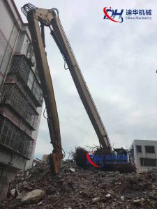 25m Excavator Three Segment High Reach Boom for Demolition pictures & photos