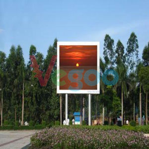 Outdoor Advertising Full Color LED Display Cabinet for LED Video Wall P5