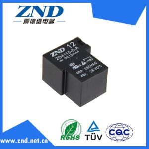 Zd4115 40A 12V Miniature Power Relay for Industrial&Household Appliances Use pictures & photos
