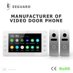 7 Inches Home Security Video Door Phone Intercom System with Memory pictures & photos