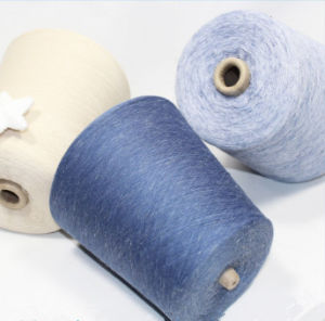 Polyester Linen Blended Yarb Special Appearance Yarn for Socks
