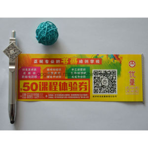 Hot Sale Advertising Promotional Pen with Roll out Paper pictures & photos