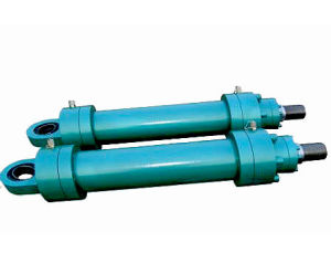 Welding Oil Hydraulic Cylinder with Yoke for Hoisting and Conveying pictures & photos