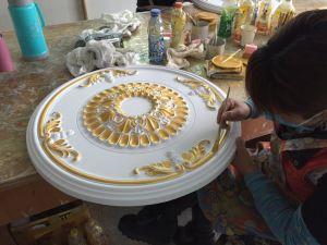 Decorative PU Ceiling Medallion for Interior Decor pictures & photos