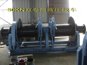 Two Drum Hydraulic Mooring Winch pictures & photos