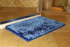 Shiny Chenille High Quality Long Pile Door Mat with Non Slip Base pictures & photos