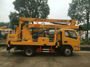 Dongfeng 4*2 Double Cab Over Head Working Truck for Sale pictures & photos