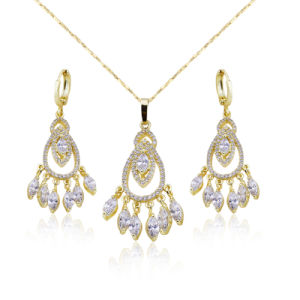 Dubai Hot Fashion Gold Plated Jewelry Set for Lady pictures & photos