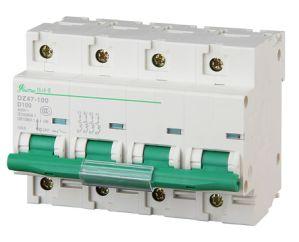 Miniature Circuit Breaker 2p Dz47-100h pictures & photos