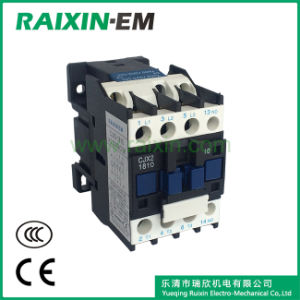 Raixin Cjx2-1810 AC Contactor 3p AC-3 380V 7.5kw Silver Contact Magnetic Contactor