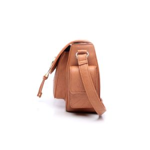 Fashion Style Orange Solid Lady Crossbody Bag (MBNO042089) pictures & photos