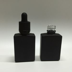 1 Oz Skull E Liquid Glass Bottle with Childproof Glass Dropper pictures & photos