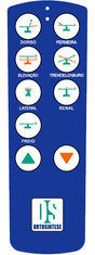 Custom Blue Touch Screen Membrane Switch Graphic Overlay with 10 Button pictures & photos