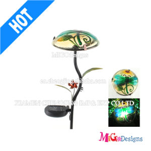 Printing Metal Light Stake LED Solar Garden Light pictures & photos