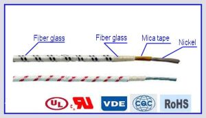 Mica Tape Insulated Glass Fiber Electric Wire pictures & photos