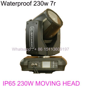 Waterproof Moving Head 230W 7r Beam Moving Head IP65 (HL-230SP) pictures & photos