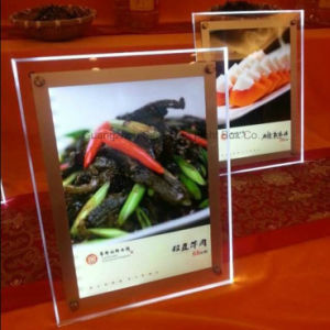 Customize Crystal Acrylic LED Light Box pictures & photos