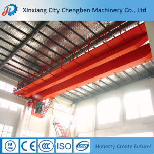 Motor-Driven Electrical Trolley Double Girder Overhead Bridge Cranes pictures & photos