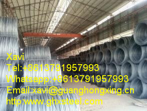Swrh42A High Carbon Steel Wire Rod in Coil 5.5~12mm