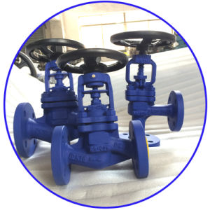 ANSI Industrial Valve Flanged Wcb Globe Valves pictures & photos