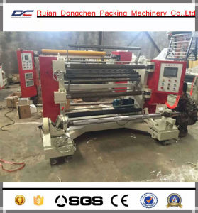 Vertical Type Plstci BOPP Slitting Rewinding Machine