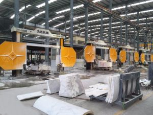 CNC Stone Diamond Wire Saw Machine pictures & photos